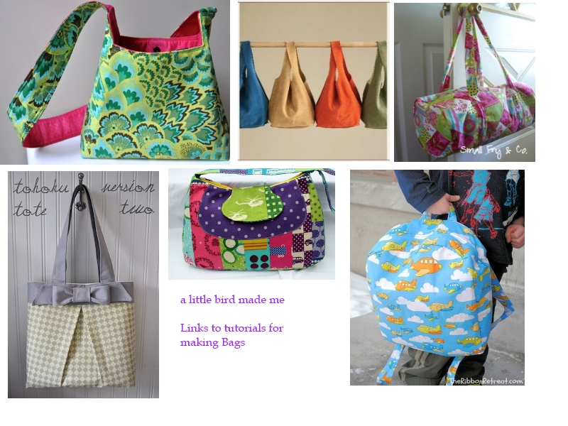Friday Finds – List of 30+ Free Bag Tutorials and Patterns | a ...